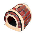 New Multifuctional Dog House Nest With Mat Foldable Pet Dog Bed Cat Bed House