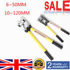 6~50MM/10~120MM Cable Wire Crimp Wire Crimping Crimper Hand Tool Plier UK