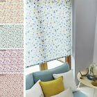 **Stunning* Aquarius FLOSSIE straight edge ROLLER BLINDS floral red blue green