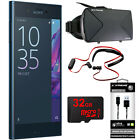 "Sony Xperia XZ 5.2"" 32GB Unlocked Smartphone Blue w/ 32GB Bundle"