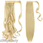 US One Piece Wrap Around/On Ponytail Clip In Hair Extensions Pony Tail Fake Hair