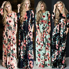 New Women's BOHO Long Evening Party Cocktail Prom Floral Summer Beach Maxi Dress