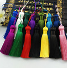 "12 Plain colours 3""1/4 (8cm) Length Fashion Craft Tassel Fringe Tassel Trim (B8)"