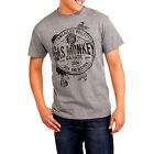 GAS MONKEY GARAGE, MENS LIGHT GREY GRAPHIC T-SHIRT, SIZES MED, LG, XL, 3X, NEW