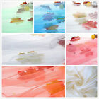 White Bed Netting Mosquito Net Queen Size Bedding Portable Wedding Decoration image