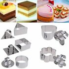 New Stainless Steel Cake Fondant Mold Pastry Baking Mould DIY Baking Cute Shape
