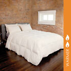 Organic Cotton 550 FP RDS Down Comforter By DOWNLITE