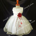 NLIBG2 Baby Infants Wedding Cocktail Evening Party Formal Pageant Gown Dress
