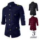Fashion Men's Luxury Casual Shirts Slim Fit Long Sleeve Stylish Dress Shirt Top