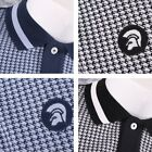 Trojan Records Limited Edition Retro Houndstooth Panel Polo Shirt