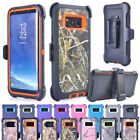 For Samsung Galaxy S8 Plus Rugged Defender Case Cover (Belt Clip fits Otterbox)