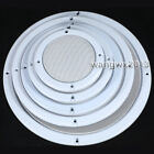 """4""""/5""""/6.5""""/8""""/10"""" inch Speaker Grill Cover Decorative Circle Metal Mesh Grille"""