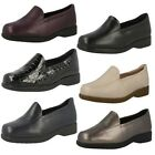 Clarks Ladies Flat Loafer Style Georgia