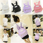 Women's Girls Cute Synthetic Leather Bow Small Travel Backpack School HOT