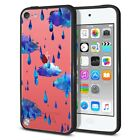 For Apple iPod Touch 5 5th/ 6 6th Gen Hybrid Bumper Clear Crystal Case Cover