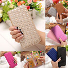 Lady Women Leather Long Card Purse Handbag Clutch Wallet