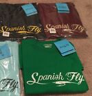Spanish Fly Distressed Logo tee - Large - New