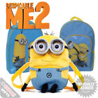 Officially Licensed Despicable Me 2 Bags - Kids Backpacks Minions School Bag