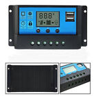 20/30A PWM LCD #Dual USB Solar Panel Battery Regulator Charge Controller 12/24V~