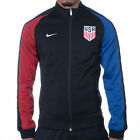 Nike US Soccer Authentic N98 Track Jacket Mens S Black Red Blue 727913 012 USA