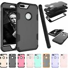 Shockproof Hybrid Hard Rubber PC Back Cover Case For Apple iPhone 6S 7 7Plus
