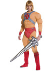 Licensed He-Man Cartoon Movie Halloween Fancy Dress Costume Muscle Bodysuit