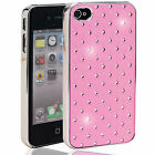 Baby Pink Diamante Mobile Phone Case (i phone, Nokia, Samsung, Sony, HTC)
