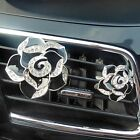 Auto Air Refresh Rose Perfume Air Freshener For Car Auto Vent Smell Refreshing