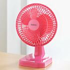 "Oscillating 9"" Desk Fan Portable Air Cooling Adjustable Home Bed Office Desk"