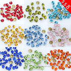 10/100gross ss8 point back crystal beads rhinestones Glass Chatons Strass stones