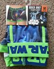 Star Wars Men's Boxer Briefs Size M or XL Boxers NEW $12.99 USD