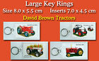 Large Key Rings David Brown Tractors