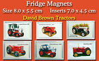 Fridge Magnets David Brown Tractors