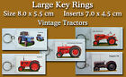 Large Key Rings Vintage Tractors