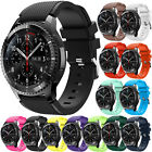 Sports Silicone Wrist Watch Band For Samsung Gear S3 Frontier / S3 Classic 22mm