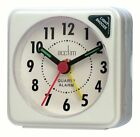 Acctim Ingot Quartz Travel/Mini Alarm Clock Snooze/Light Analogue Face