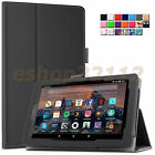Folio Stand Cover Case for All-New Amazon Fire 7 Tablet 7th Gen 2017