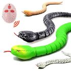 Kids Remote Control Snake Toy Wireless Infrared RC Rattlersnake Funny Prank Toys