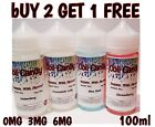 10ml 1 / 3 / 10 pack E LIQUID 80/20 VG/PG SHISHA FLAVOUR PEN E CIG 100ml 3liquid