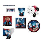 Magic  Party Supplies Cups Plates Napkins Tablecover More