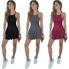 Women Casual Sleeveless Mini Dress Party Beach Dress Short Summer US