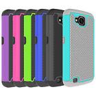 For LG X Calibur / X Venture Case Hard&Silicone Hybrid Shockproof Phone Cover