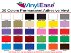 Self Adhesive Permanent Craft Vinyl *LIKE Oracal 651* - 30 Colors - 8 Roll Sizes