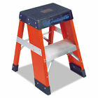 Louisville Ladder Fy8000 Series Industrial Fiberglass Step Stand 2 Ft 2-Step New