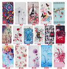 Card Slot Wallet Patterned Flip Case Cover For Galaxy J1 Ace J2 J3 On5 Leather