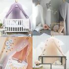 Crib Round Dome Princess Bedding Hanging Canopy Mosquito Net Girl Kids Bedroom image