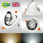 Directional Swivel and Scoop Retail LED COB Downlight Recessed Gimbal Spotlight