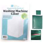 1 Vinyl Quilted Washing Machine Dryer Cover Top Load Dust Zippered Protection