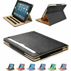 iPad 6th Gen 2018 Soft Leather Smart iPad Case Cover Sleep Wake Stand for APPLE