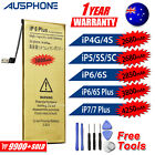 iPhone 4 4S 5 5S 6 6S PLUS High Capacity Battery Replacement Tools Kit For Apple
